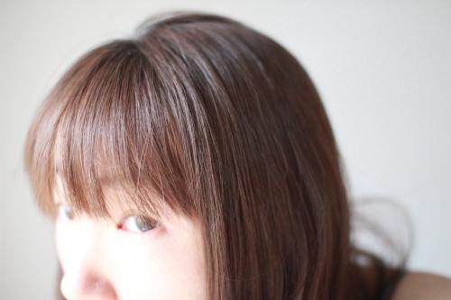 DHCヘアカラー前の髪