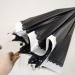 外の紫外線からきっちり守る!晴雨兼用二重張りUV日傘