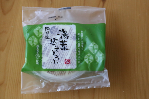 湯葉寄せ豆腐