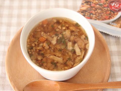 ファンケル発芽米肉雑炊