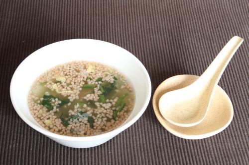 ヒートダイエット、鯛と山椒のユズ皮入り和風スープ