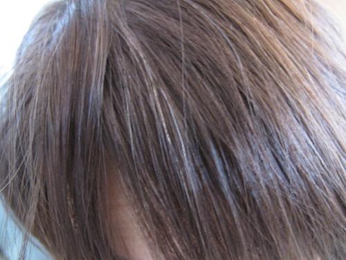 シュアを使って1回目の髪