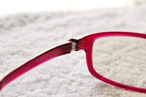 jins pc用眼鏡ジョイント部分