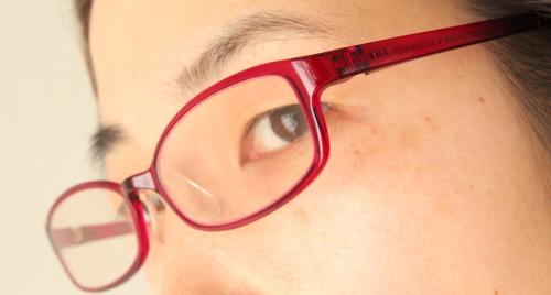 jins pc用眼鏡かけてみた