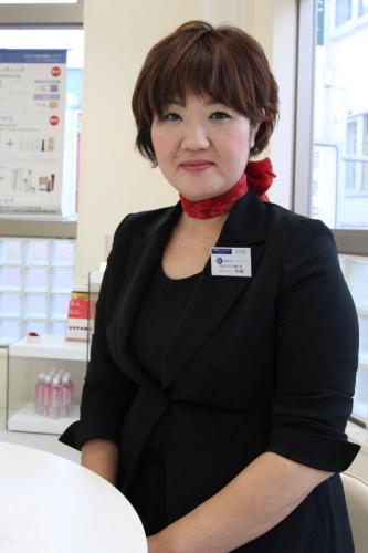 ポーラエステ所沢プロぺ通り店。施術してくれたマネージャーの中嶋さん。