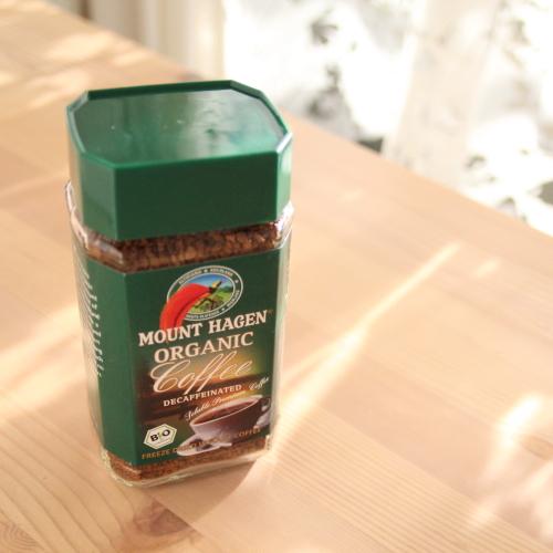 マウント ハーゲン カフェインレス インスタントコーヒー