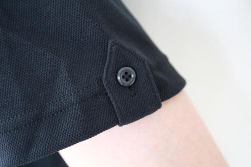 パットクール半袖ポロシャツ袖
