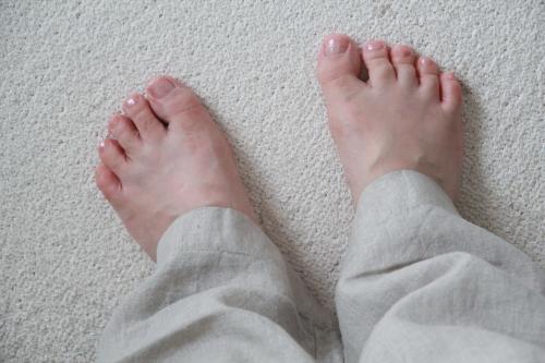 無印良品の麻100%パジャマ
