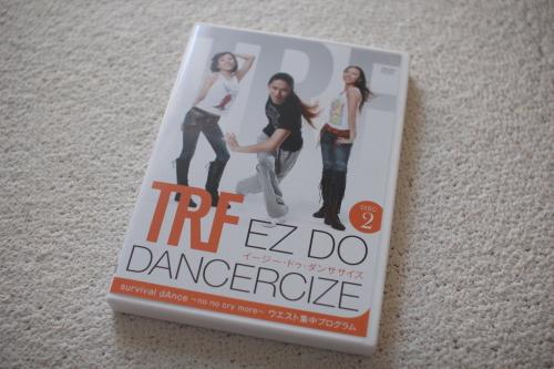 TRF ダンササイズ ウエスト集中プログラムDVD