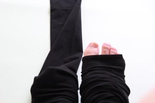 ブロンドール17℃ トレンカレギンス履いてみた