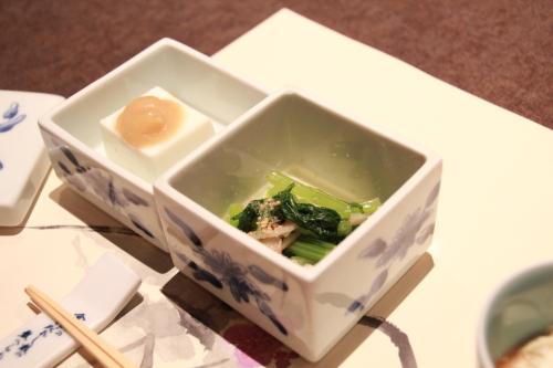 梅の花膳 小鉢