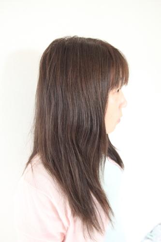 テラクオーレローズシャンプー&コンディショナーを使ったとの髪の毛