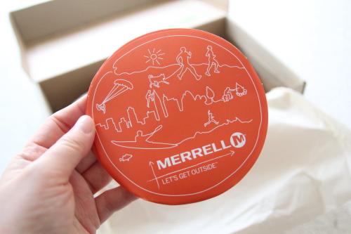 merrellリーフレット