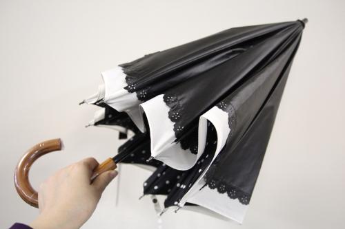 晴雨兼用二重張りUV日傘(ロング)