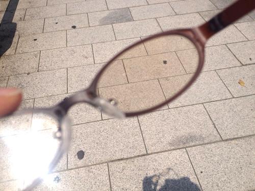 照り返しに強いUVサングラス