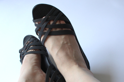 crocs履いてみた