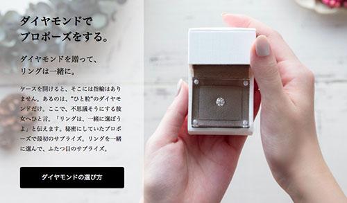クリスマスに婚約指輪をプレゼント