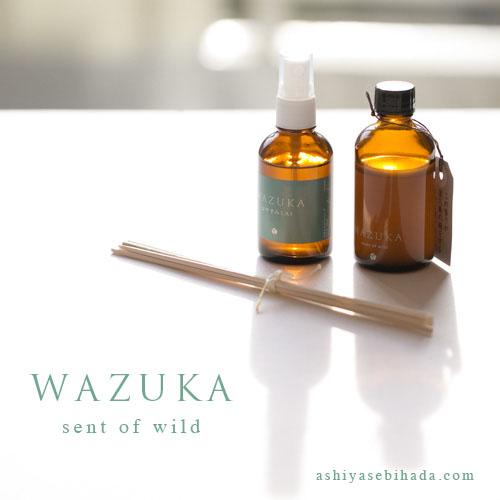 wazuka 屋久島の木を使ったアロマエッセンス