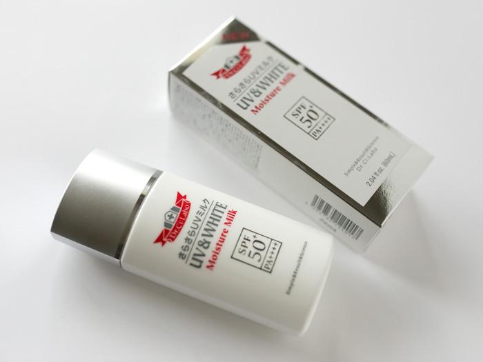 UV&WHITEモイスチャーゲル50+ SPF50+ PA++++