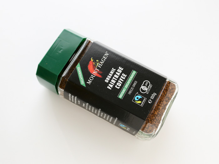 マウントハーゲン カフェインレス インスタントコーヒー