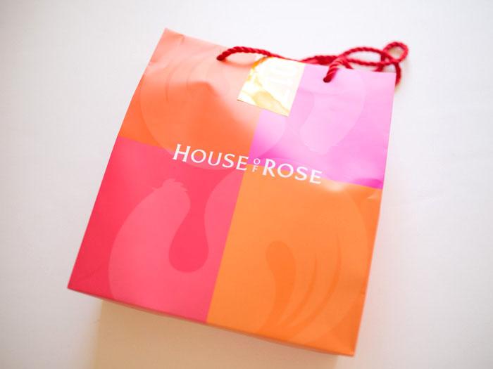 ハウスオブローゼの福袋購入しました、中身ネタバレ