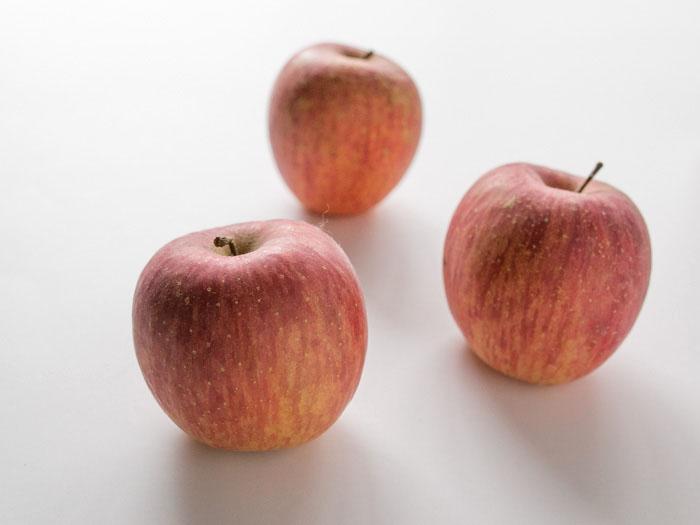 楽天で買ったリンゴ