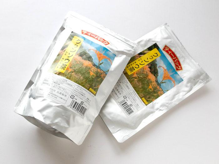 クワンソウのお茶パック
