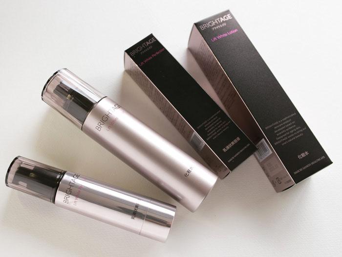 ブライトエイジの化粧水、美容液
