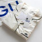 GUのサテンパジャマ