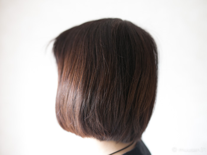 マイナチュレを使用した後のうるつや髪