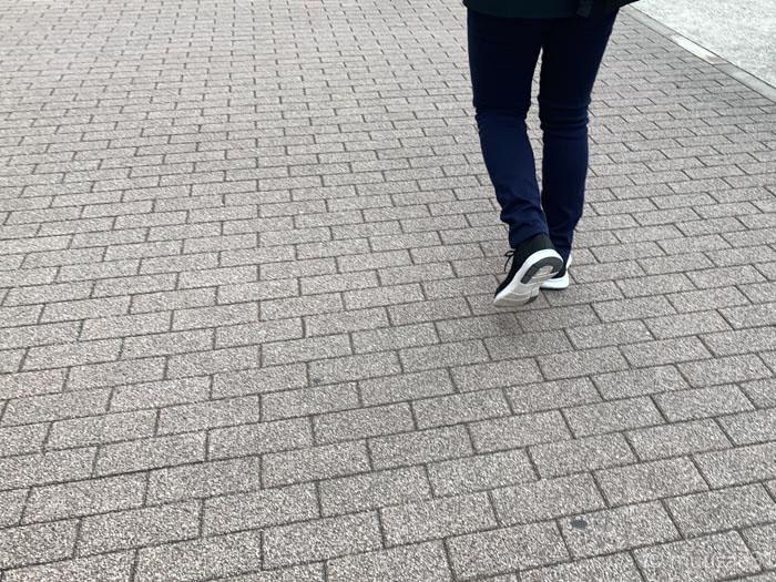 無印良品のスニーカー履いてみたよ